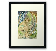 Wood Elf Framed Print