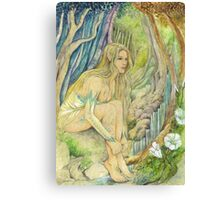 Wood Elf Canvas Print
