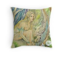 Wood Elf Throw Pillow