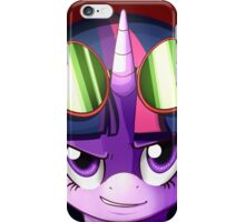 Twilight Sparkle Goggles iPhone Case/Skin