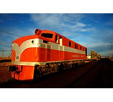"""ghost train"" Photographic Print"