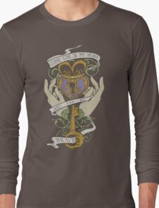 Come Live In My Heart - Claddagh Long Sleeve T-Shirt