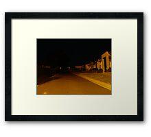 Miles Lane Framed Print