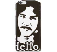 Inigo Montoya Princess Bride Hello iPhone Case/Skin