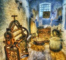 Olde Victorian Washroom by Ian Mitchell