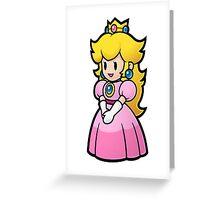 Princess Peach Nintendo T-shirt Greeting Card