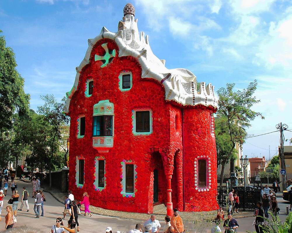 """Little Red """"Gingerbread House"""" by Alex Hardie"""