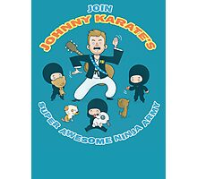Super Awesome Ninja Army Photographic Print