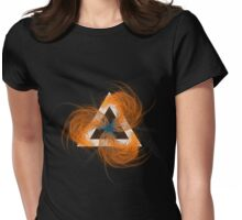 Fire in 3 Womens Fitted T-Shirt