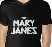 Spider-Gwen The Mary Janes Mens V-Neck T-Shirt