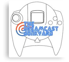 Dreamcast Junkyard Controller Canvas Print