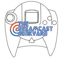 Dreamcast Junkyard Controller Photographic Print