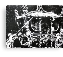 The Coronation ( Time Travel ) Canvas Print