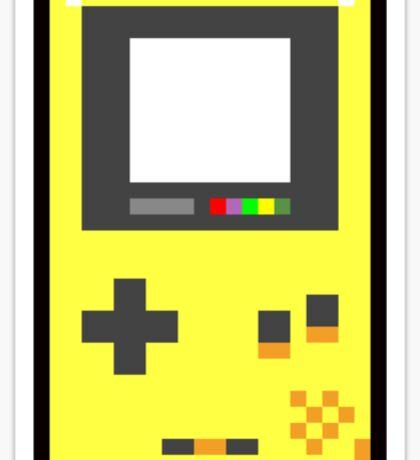 Handheld Game Color Sticker