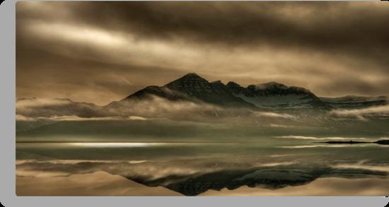 Iceland - miracle mirror by Patrycja Makowska