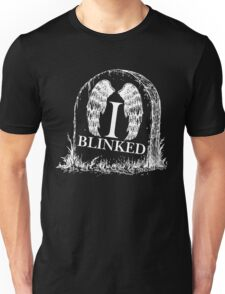 Doctor Who I Blinked Gravestone Unisex T-Shirt