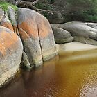 Tidal River Rocks by RobynHButler