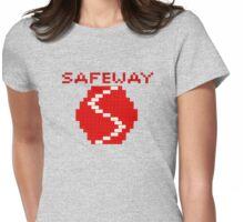8-bit Safeway Womens Fitted T-Shirt