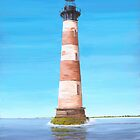 Morris Island Lighthouse Charleston SC A001 by Matthew Campbell