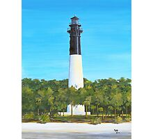 Hunting Island Lighthouse Hunting Island State Park Beaufort, SC A013  Photographic Print