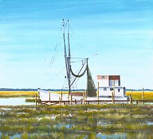 Poorboy Beaufort, SC A015 by Matthew Campbell