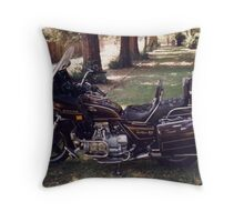 I MISS MY GOLD WING Throw Pillow