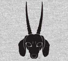 horned dachshund Kids Clothes