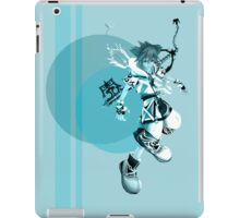 Kingdom Hearts - Sora [Blue] Master Form Case iPad Case/Skin