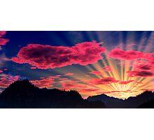 Northlands Sunset Photographic Print