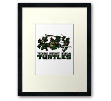 Teenage Mutant Ninja Turles Framed Print