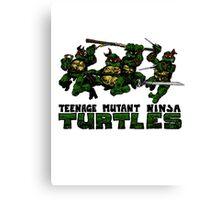 Teenage Mutant Ninja Turles Canvas Print