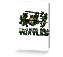 Teenage Mutant Ninja Turles Greeting Card