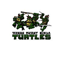 Teenage Mutant Ninja Turles Photographic Print