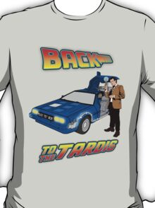 Back to the Tardis Matt Smith T-Shirt