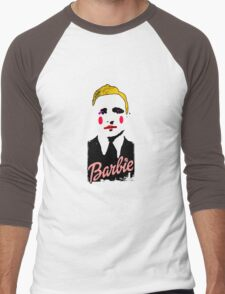 Klaus Barbie Doll Men's Baseball ¾ T-Shirt