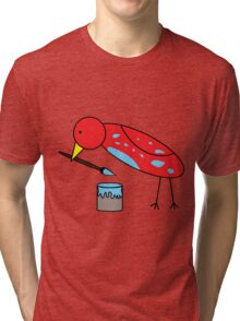 Bird Brush Tri-blend T-Shirt