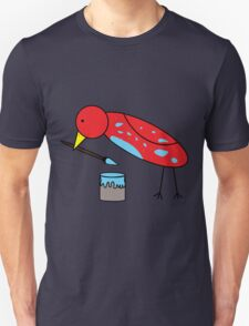 Bird Brush Unisex T-Shirt
