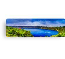 Mount Gambier - Blue Lake Canvas Print