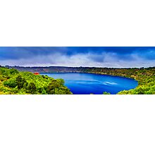 Mount Gambier - Blue Lake Photographic Print