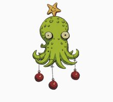 Christmas cephalopod Kids Clothes