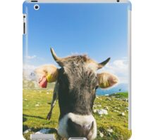 Cow in the Mountains iPad Case/Skin