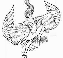 Harpy: Goddess of Air by RachelHWhite