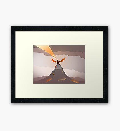 Smaug The Golden  Framed Print