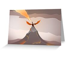 Smaug The Golden  Greeting Card