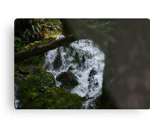 the water falls Metal Print