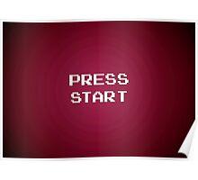 Push Start Poster