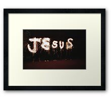 For Those Who Love Him Framed Print