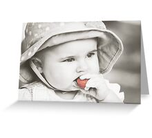 Strawberry Summer Greeting Card