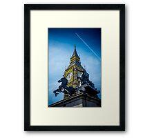 Onwards and Upwards @londonlights Framed Print