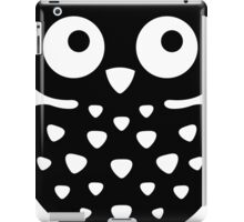 Black & White Owl iPad Case/Skin
